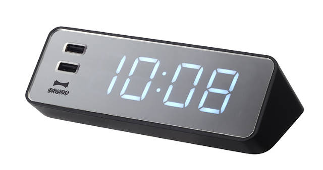Bedside Clock Iphone Charger